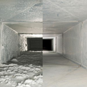 Air Duct Cleaning Raleigh NC before after photo