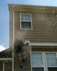 dryer vent cleaning in action Raleigh
